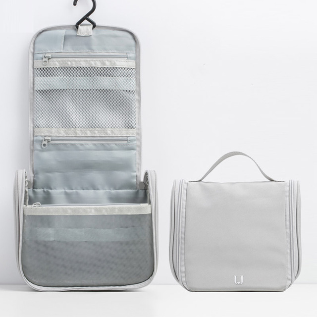 New Xiaomi Jordan&Judy Portable Travel Cosmetic Bag Neceser Hanging Wash Bag Neutral Make Up Bag Organizer Wash Storage Bag 6
