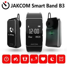 Reloj inteligente JAKCOM B3 compatible con 4 bandas 6 Smart 2020 my 10 pro nfc 5 pulseras de gel polaco w7 despertador e20(China)