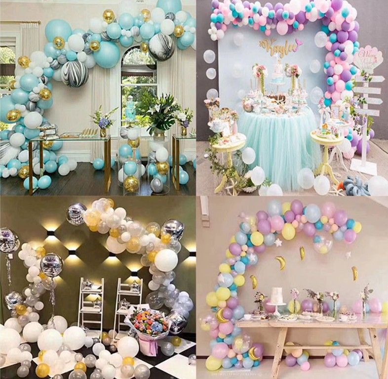 Ballon Accessories Super Sticky Balloon Dispensing Party Decorations Double-sided Paste Without Leaving Marks 1 Roll 100 Tablets