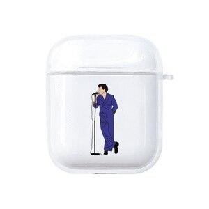 Image 4 - Etui Harry Styles na Apple AirPods 1 2 ochronne przezroczyste etui na słuchawki miękki futerał silikonowy lub Apple Airpods Pro Cover