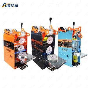 Image 1 - WY802F manuel bardak yapıştırma makinesi plastik veya kağıt kabarcık çay bardağı mühürleyen 220V 110V