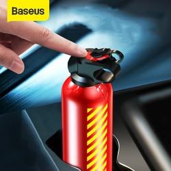 Extintor de incendios de coche Baseus para el hogar, extintor de polvo de coche portátil, Mini extintor de incendios para hoteles de laboratorios