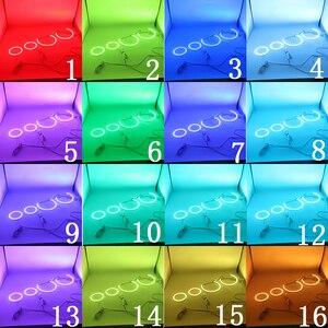 Image 5 - Аксессуары для BMW 3 серии E90 2005 2008, новейшая фара, разноцветсветодиодный светодиодные RGB глаза ангела, кольцевой глаз, ДХО, Радиочастотный пульт дистанционного управления