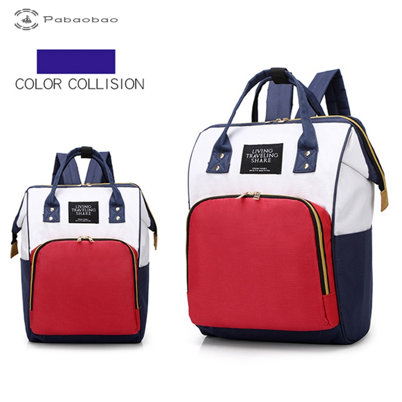 Multifunctional Mummy Bag Large Capacity Waterproof Durable Mummy Backpack Nappy Bags For Baby Care With Side Pockets