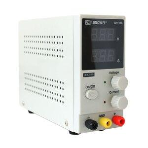 Image 4 - New 30V 10A LED Display Adjustable Switching Regulator DC Power Supply LW K3010D Laptop Repair Rework 110v   220v