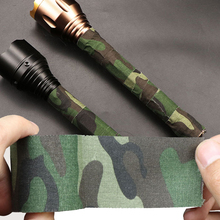 New Printed Tapes Outdoor Waterproof Camouflage Stretch Hunting Wrap Camo Duct Cloth Bicycle Sticker Mini Tools 10mx5cm