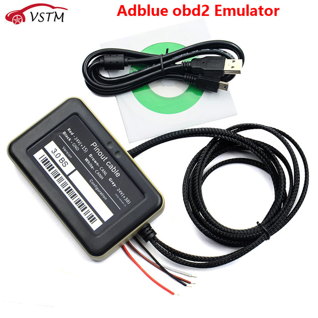 VD400 Adblue 8in1 Remove Tool Adblue Emulation for truck 8 in 1 truck code reader scanner