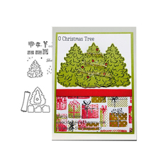 JCarter Metal Cutting Dies and Stamps for Scrapbooking Craft Gift Christmas Tree Stencil Card Make Album Sheet Decoration 2019