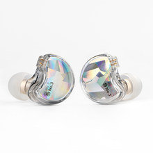 TFZ NO.3 Third Generation Unit HiFi In Ear Monitor Earphone Dynamic Driver IEM with 2pin Detachable Cable AIR KING X1 MY LOVE