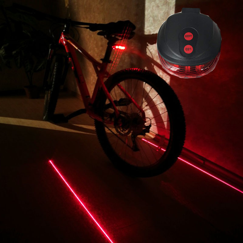 Bicycle LED Tail Light Safety Bike Lights Mountain Bike Tail Light Taillight Warning Bicycle Rear Light Lamp Cycling Accessories