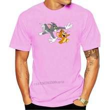 Men t-shirt Tom Jerry On The Run by popcultured tshirt Women t shirt