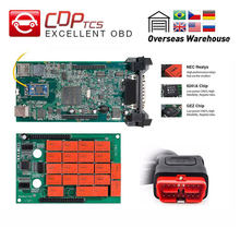 CDP TCS V3.0 NEC relay board OBD2 car truck multidiag pro Bluetooth obd ii scanner 2016 software auto diagnostic tool(China)