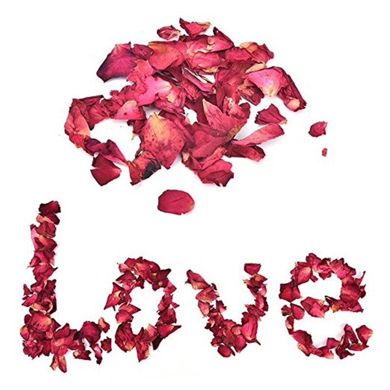 1 Пакет Сухих Лепестков Роз Натуральный Цветочный Баня Спа Душ Отбеливающий Сухой Цветок Розы Лепесток Для Купания Снять Благоухающее Тело Массажер