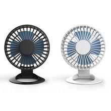 Mini Desktop Cooling Fan USB Charging Mute Fan Air Cooler for Home Office School ventilator fan air cooler multifunctional desktop mini usb charging clamp fan rotary box led night light mini fan