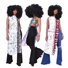 African Tops For Women Dashiki African Clothes Mesh Bow Africa Dress Ladies Tops Clothing Ankara Plus Size African Dress