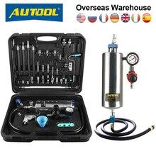 מקורי AUTOOL C100 רכב דלק Injectore מנקה ללא פירוק בקבוק בנזין דלקים מזרק ניקוי בדיקות מערכת סיטונאי