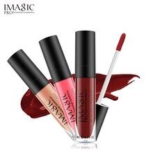 IMAGIC lip kit Rare Lip Paint matte lipstick Waterproof Strawberry Long Lasting Dont dye cup Gloss FB gloss