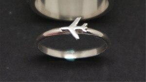 Обручальное кольцо MKENDN для мужчин и женщин, кольцо для пары летчиков и бортпроводников, подарочный набор любитель авиации