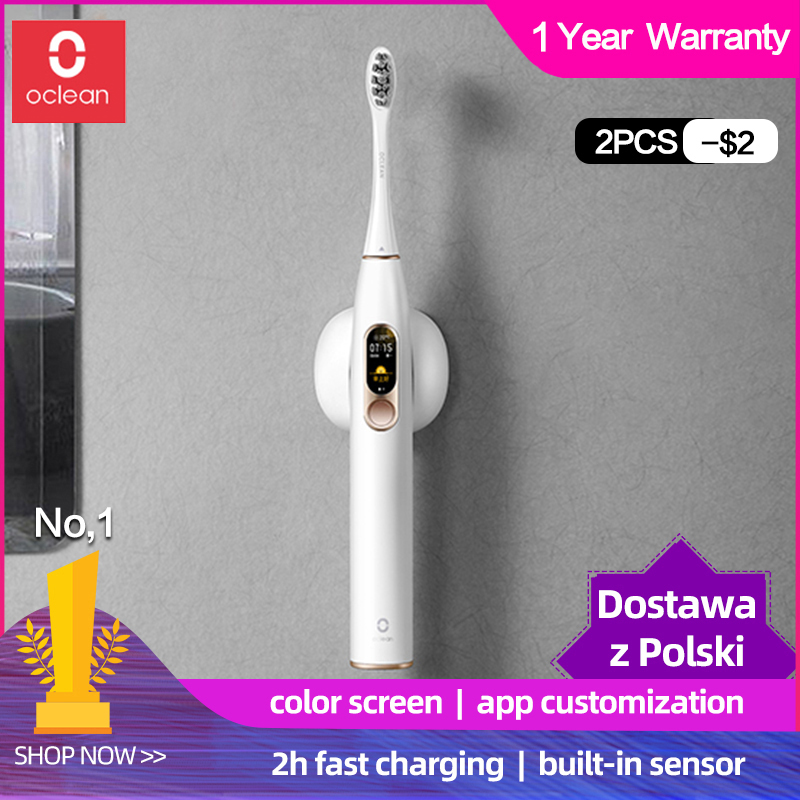 Global Version Xiaomi Oclean X Sonic Electric Toothbrush Adult Waterproof Ultrasonic automatic Fast Charging Tooth Brush mijia image