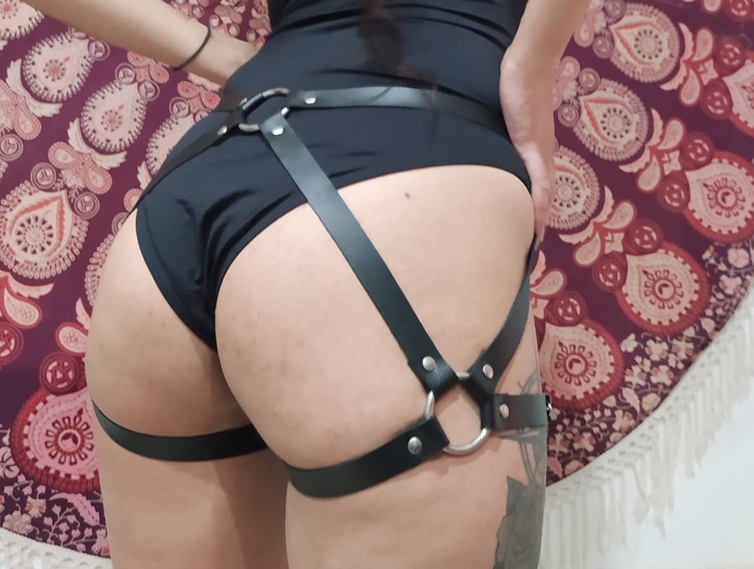Leather Harness bdsm