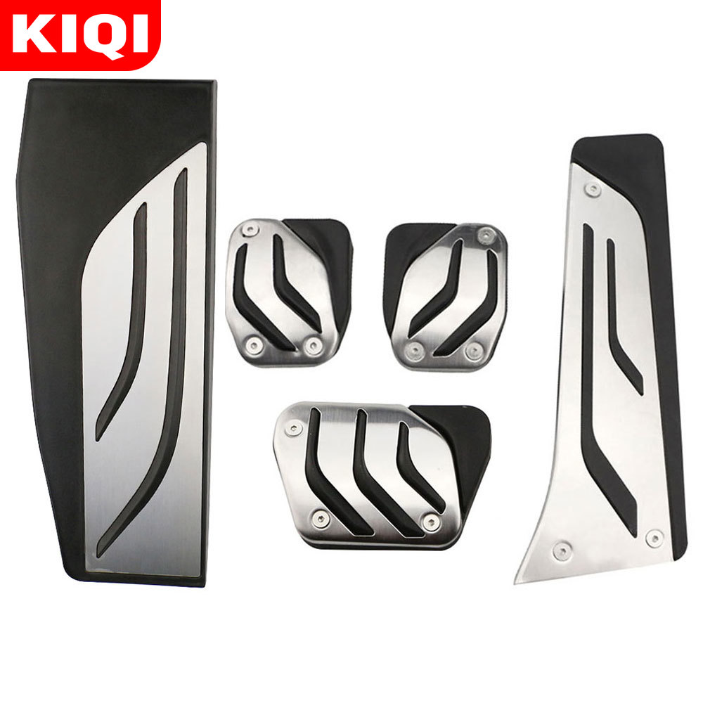Car Accessories Foot Rest No Drilling Footrest <font><b>Pedal</b></font> Pad Cover for <font><b>BMW</b></font> <font><b>F30</b></font> F31 316i 318d 320i 328i 335i F20 F21 3 Series image