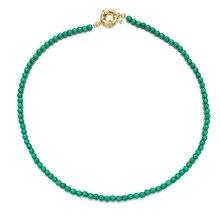 Bohemia multicolorido azul natural grânulos de pedra colar feminino cor de ouro liga charme correntes gargantilha colar para festa jóias