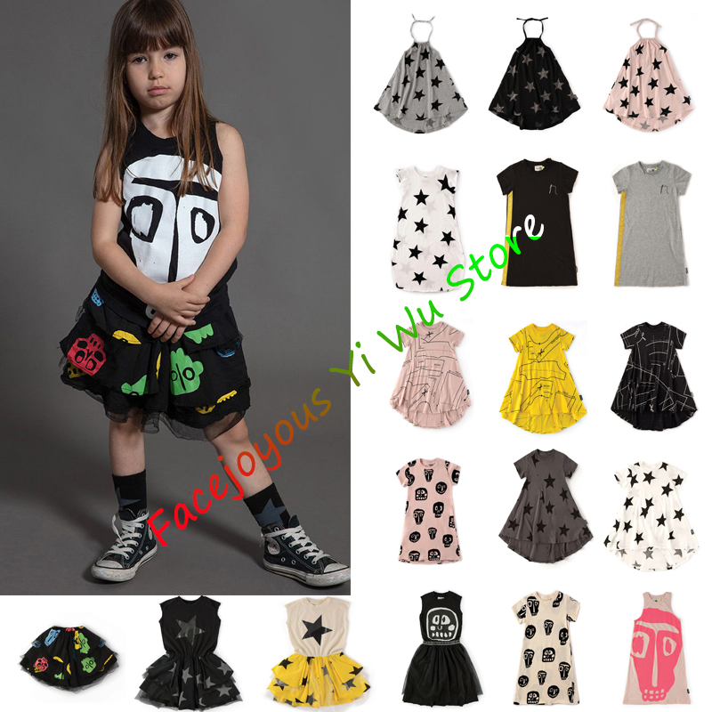 Kids Dresses For Girls Dizzy Skull 360 Dress Baby Girl Clothes Boutique Princess Dress Toddler Girl Dresses Party And Holiday