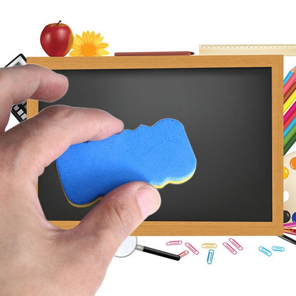 4PCS Dry Wipe Marker Cleaner Whiteboard Blackboard Drawing Draft Eraser Office School Supplies