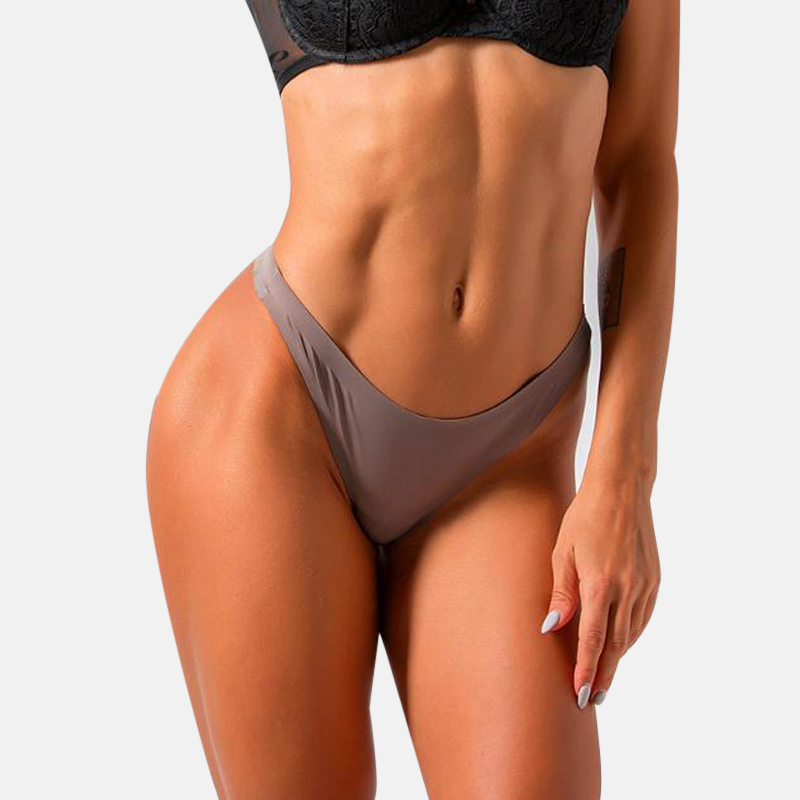 Women G String Solid Underwear Nylon Seamless Panties Low Waist Knickers Sale