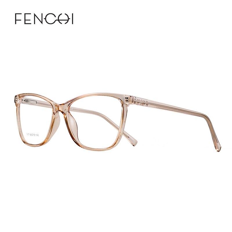 FENCHI Cat Eye Glasses Frame Anti Blue Ray Glasses Transparent Gaming Computer Blue Light Blocking Glasses Women Men