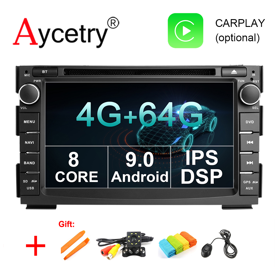 4G 64G 8 CORE Android 9.0 2 Din Car Multimedia dvd Player GPS autoradio For Kia Ceed 2009 2010 2011 2012 Car Radio PC wifi dsp tech 2 scanner for sale
