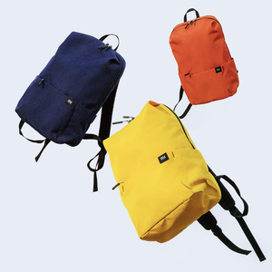 Image 5 - 2020 New Xiaomi Colorful Mini Backpack Bag 8 Colors Level 4 Water Repellent 10L Capacity 165g Weight YKK Zip Outdoor Smart Life