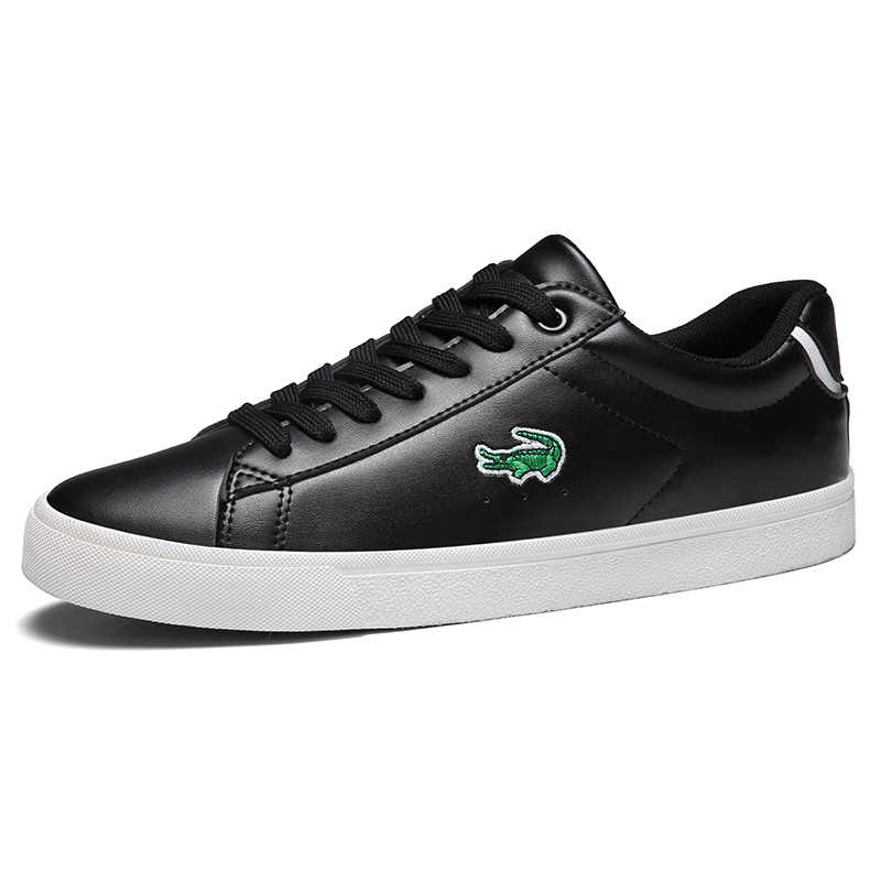 CARTELO 2020 Neue Casual Schuhe Männer Leder Flache Schuhe Lace-up Low Top Sneakers Tenis Masculino