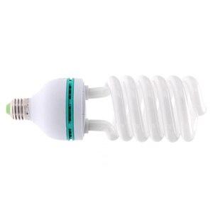Image 2 - E27 220V 150W 5500K צילום סטודיו הנורה וידאו אור מנורת אור יום לבן