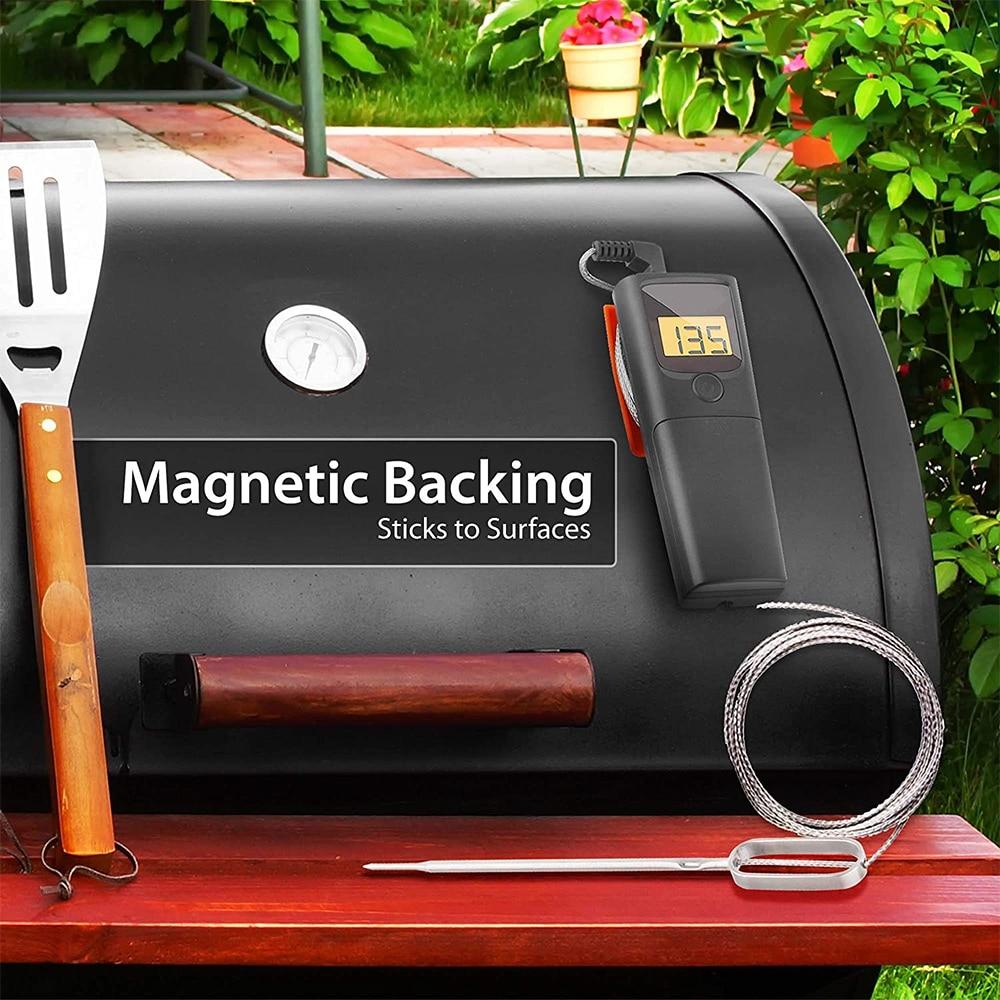 fio cozinha remoto leitura instantânea churrasco temperatura sonda para grill