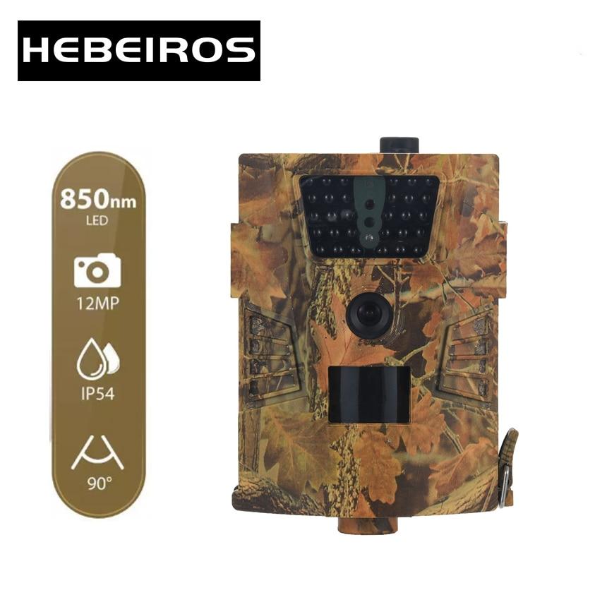 Hebeiros на открытом воздухе Охота Камера 12MP диких животных детектор Беспроводной Trail Камера HD Водонепроницаемый тепла Сенсор Ночное видение ...