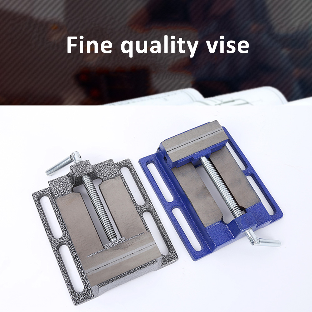 Professional Machine Vise Aluminum Vises Table Flat Clamp-on Plier Drill Press Woodwoking Machinery