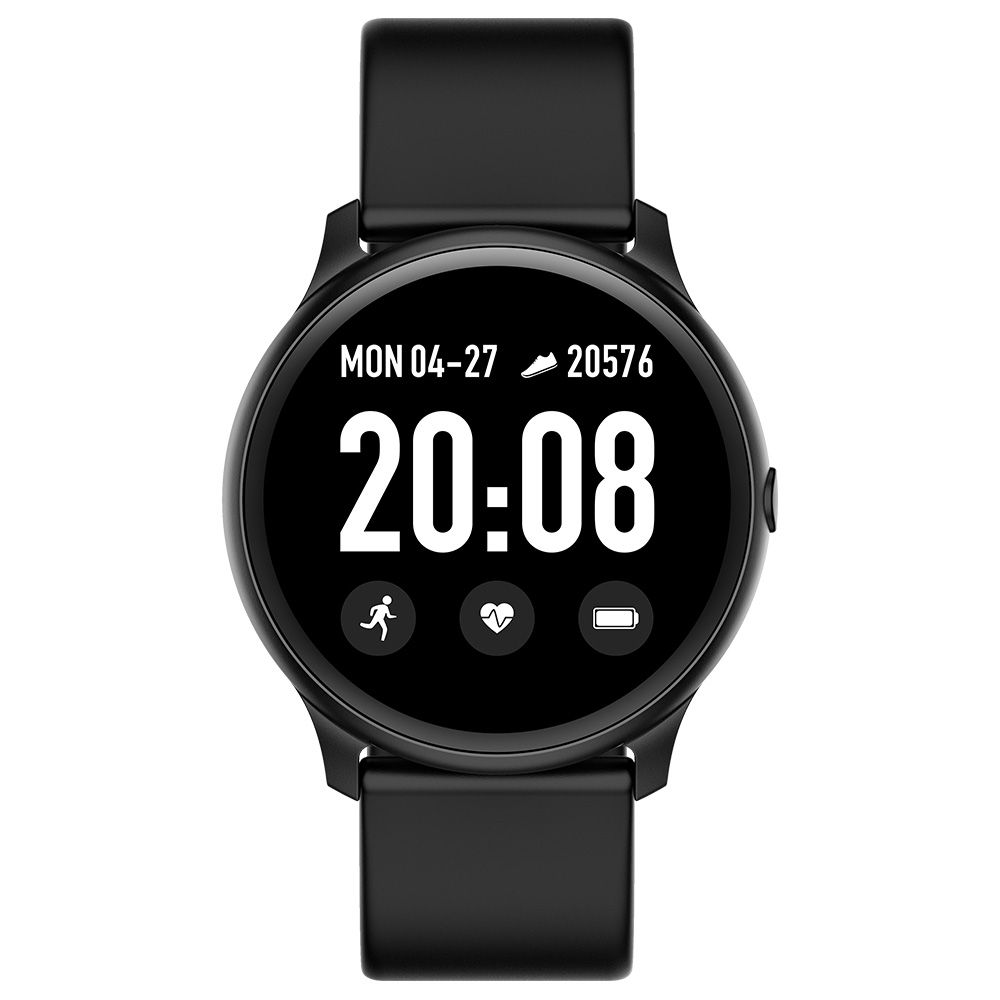 RGTOPONE <font><b>KW19</b></font> <font><b>Women</b></font> <font><b>Smart</b></font> <font><b>Watch</b></font> Waterproof Blood Oxygen Heart Rate Monitor Men Sport Watchband Smartwatch for IOS and Android image