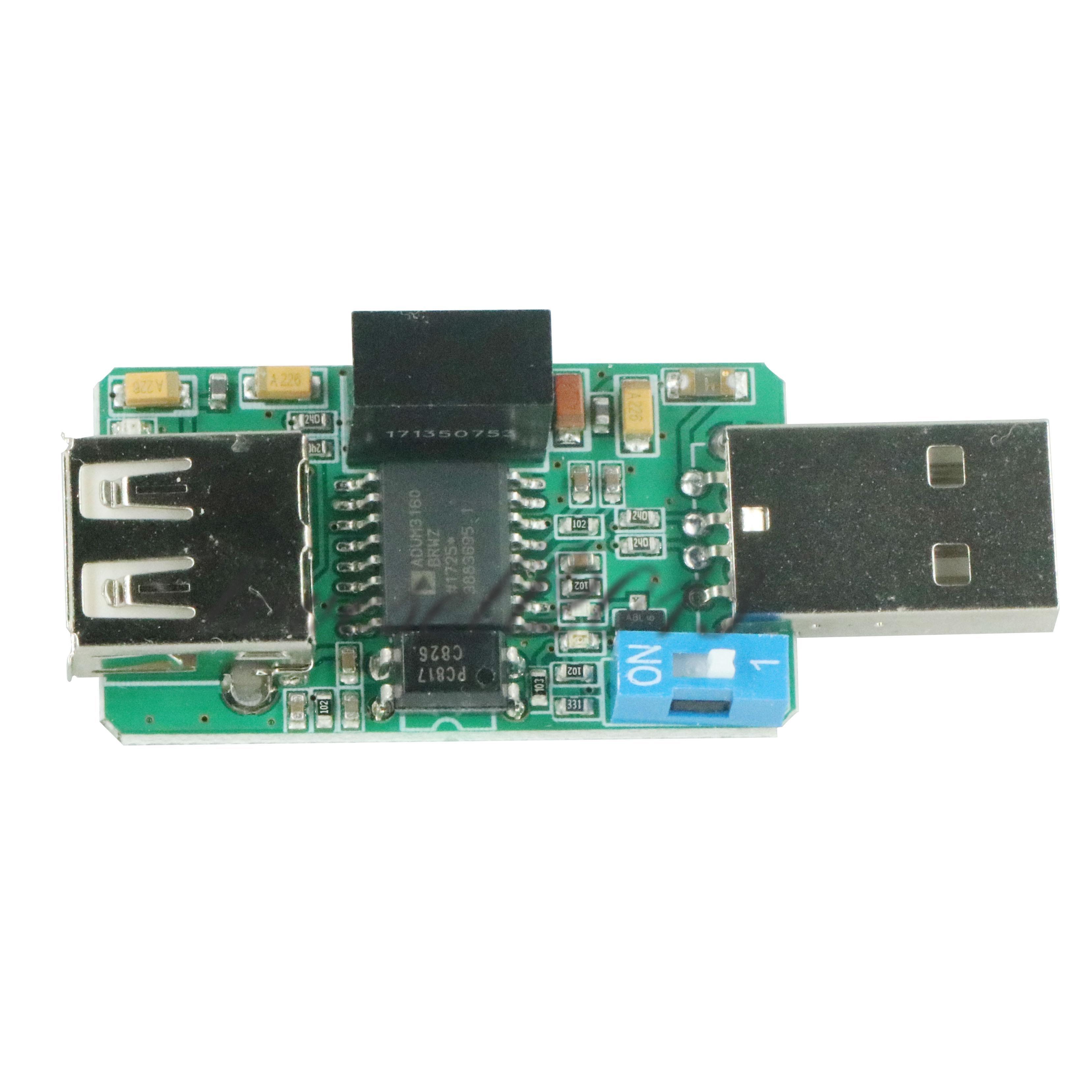 New USB Isolator 1500V Isolator ADUM4160 USB To USB ADUM4160/ADUM3160 Module Board Diy Kits