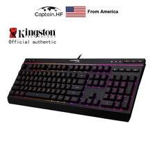 Us captain hyper x alloy core rgb Мембранная Игровая Клавиатура