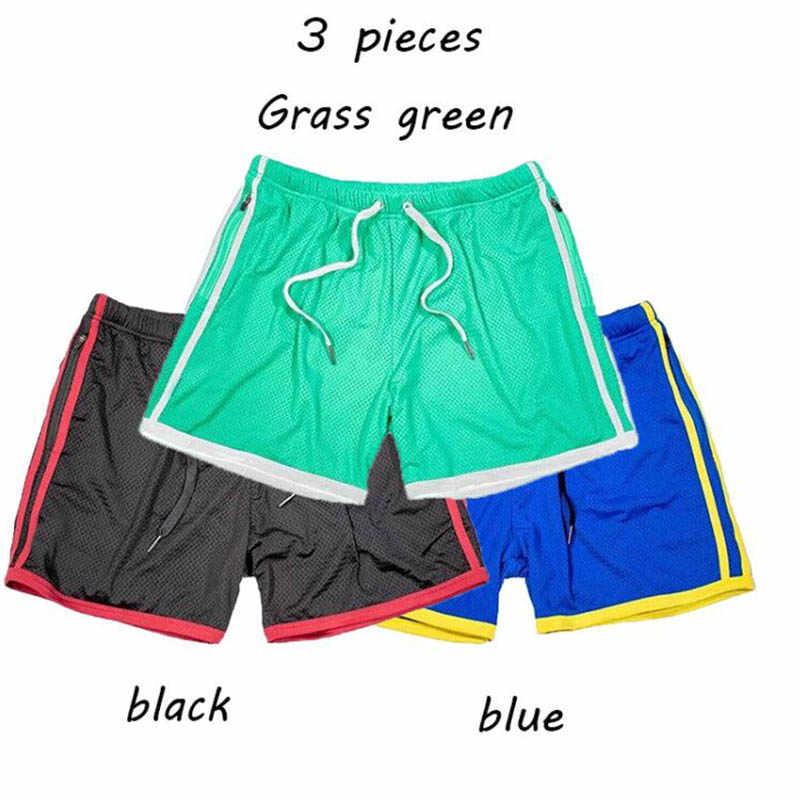 2019 Nuovo di Estate di colore Solido Da Jogging uomini di Sport shorts Fitness Quick Dry Allenamento Jogger Palestra Crossfit shorts running Pantaloncini Uomini
