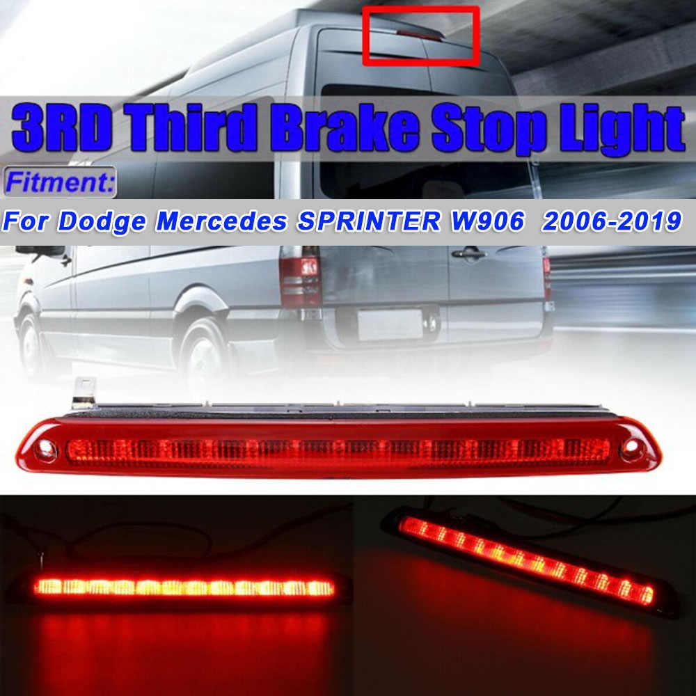 Auto LED Lampu Rem 3rd Mengemudi Super Terang Lampu untuk Dodge Mercedes-Benz Sprinter W906 06-19 Eksterior pars Lampu