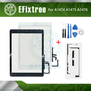 New Support Sleep Wake up A1474 A1475 A1476 LCD Touch Panel Display Screen For iPad Air Screen Digitizer Front Glass With Tool image