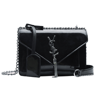 2019Chain Shoulder bags for women Luxury Handbags Women Bags Designer Famous Brands Messenger Ladies Leather Handbag Sac A Main