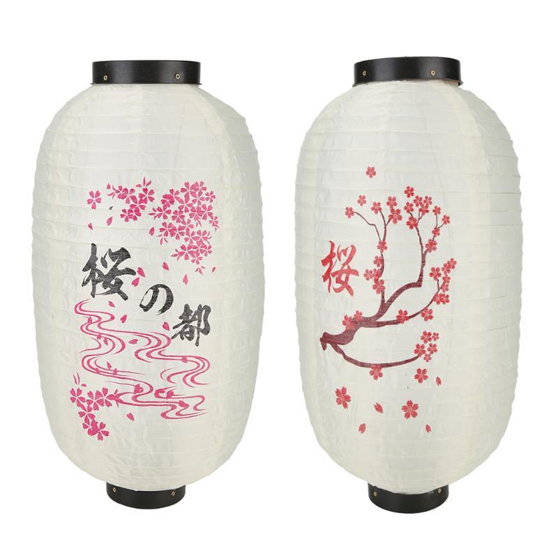 10 Inch Japanese Style Cloth Lantern Lucky Cat Festival Decor Chochin Bistro Bar Waterproof Lantern Restaurant Party Decoration