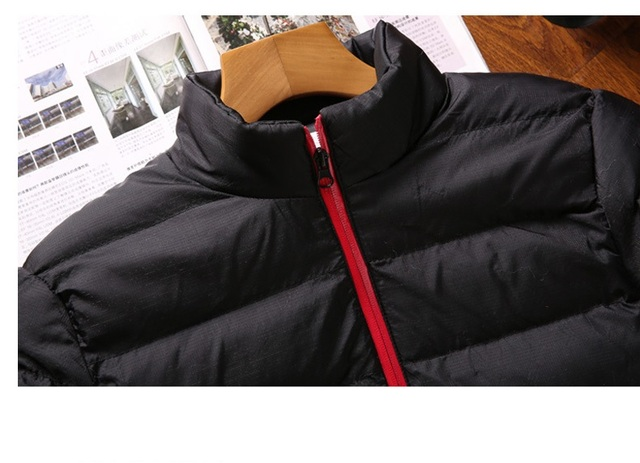 New Warm Thick Men Parka Jackets Winter Casual Mens Outwear Coats Solid Stand Collar Male Windbreak Cotton Padded Down Jacket 5