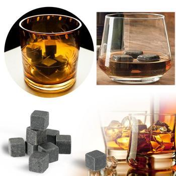 Wielokrotnego użytku kamienie Whisky naturalne Whisky Cooler kamienie wino chłodzenie Cube kamienie wina wesele schładzacz do wina kuchnia akcesoria barowe tanie i dobre opinie CN (pochodzenie) Chłodnic wina i agregatów Ce ue Other Ekologiczne Zaopatrzony CW38991 9pcs Geometry Stone Grinding Town ice