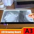 Цифровой планшет для рисования mini A3  портативный цифровой планшет с сенсорным управлением  Диммируемый графический планшет для рисования  ...