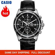 Часы Casio Edifice часы мужские лучший бренд класса люкс кварцевые часы водонепроницаемые световой хронограф мужские часы F1 гоночный элемент спортивные военные часы relogio masculino reloj hombre erkek kol saati