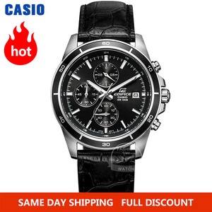 Image 1 - Casio watch Edifice watch men brand luxury quartz Waterproof Chronograph men watch racing Sport military Watch relogio masculino